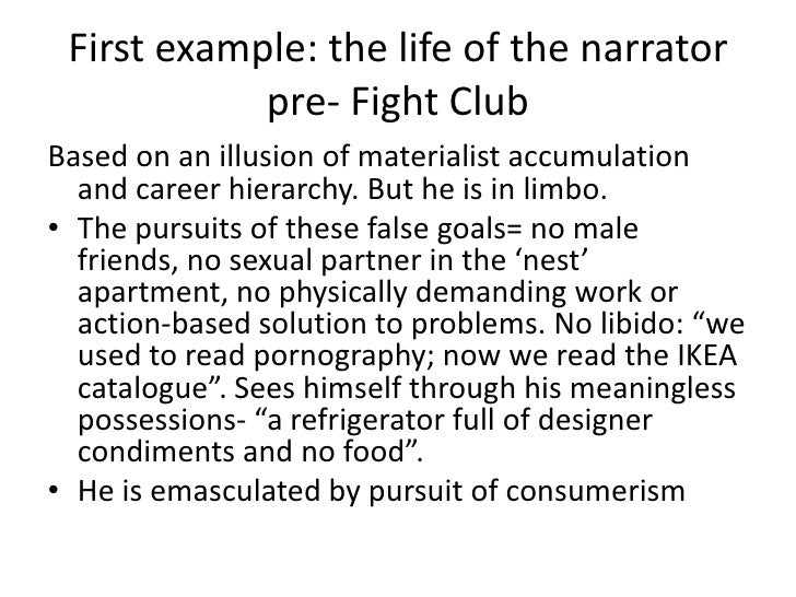 fight club masculinity essays Fight club essay masculinity and femininity 1 chloe wallace what different attributes and characteristics are associated.