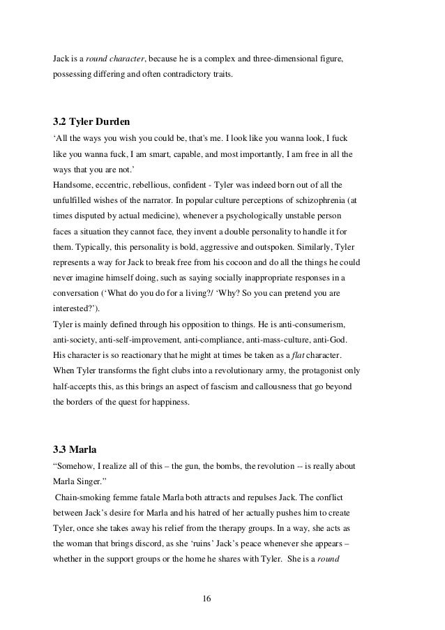 an analysis of the characters in the movie the fight club I have an assignment to watch the movie fight club and write a  can someone please explain the movie fight club  main characters other.