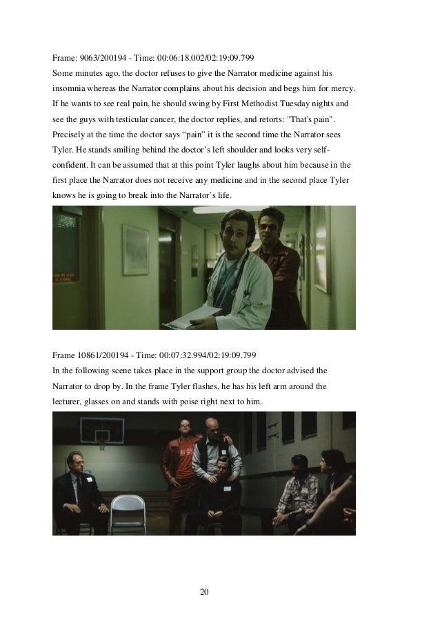 Fight club film analysis1