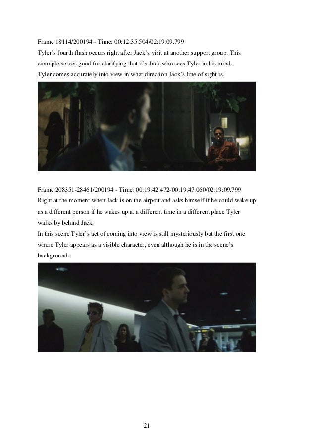 fight club film analysis Cause masculinity in fight club is directly linked to male violence  light how an  analysis of ahomoerotically charged film such asfight club, even in the context.