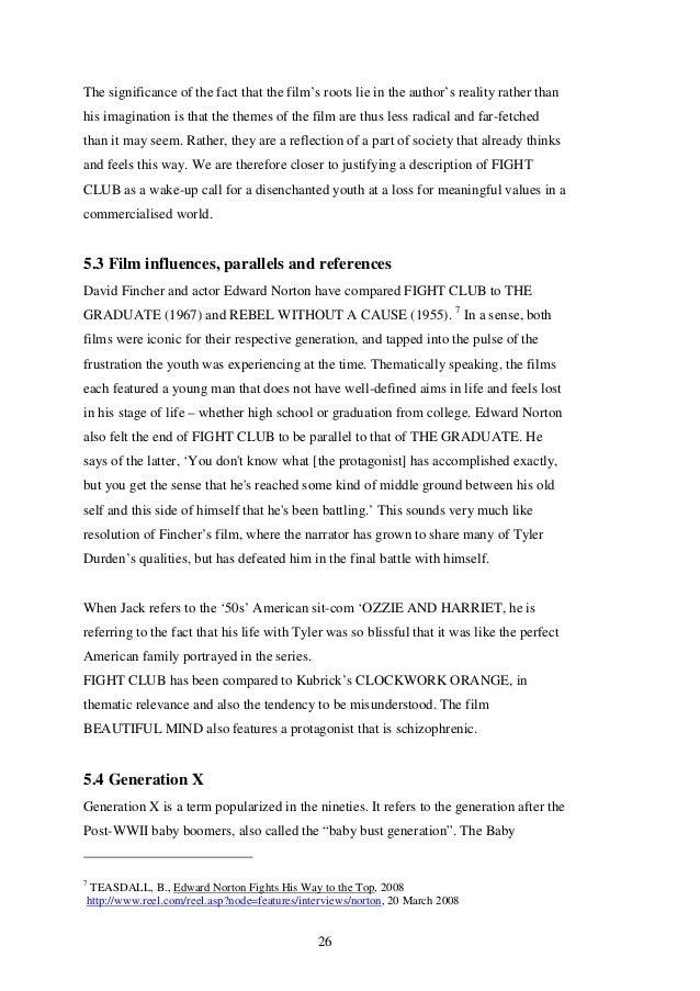 Fight Club End Scene Analysis Essays - image 3