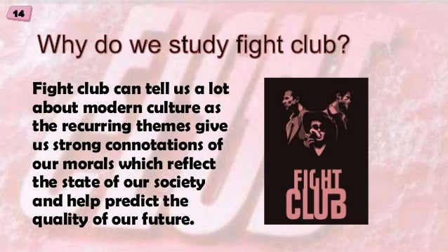 Fight club character analysis