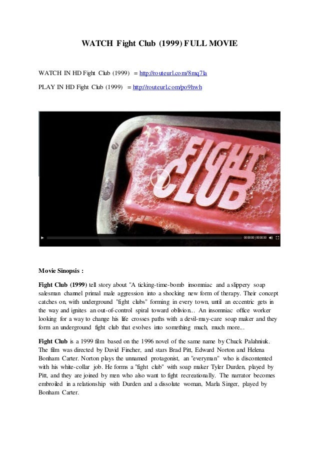 watch fight club online free with english subtitles