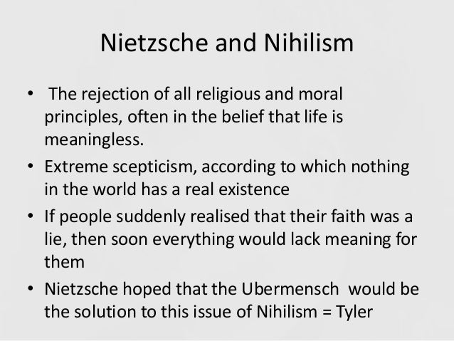 two brands of nihilism essay Essay preview two brands of nihilism as philosopher and poet nietzsche's work is not easily conformable to the traditional schools of thought within philosophy there is a second sense of nihilism that appears as an outgrowth of the first that nietzsche appeals to in his critique of values.