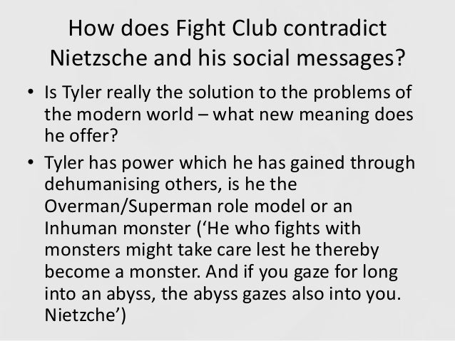 fight club interpersonal communication Unit 4 intrapersonal and interpersonal communication page 37 characterized by a strong feedback component communication is enhanced when the relationship.