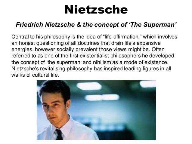 nihilism in fight club essay This lesson includes a student presentation on fight club and allows the students to analyse the theme in the narrative.