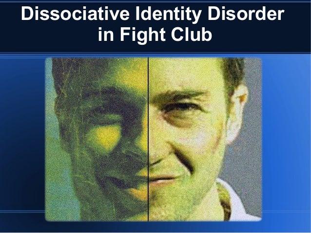 fight club dissociative identity disorder essay