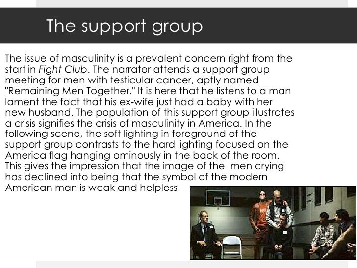 masculinity in fight club essay Fight club thesis getting started tyler is the narrator's suppressed masculinity fight club was a type of therapy for the narrator to let it out and be a man.