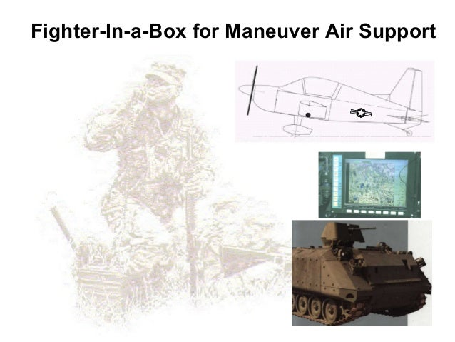 Fighter-In-a-Box for Maneuver Air Support