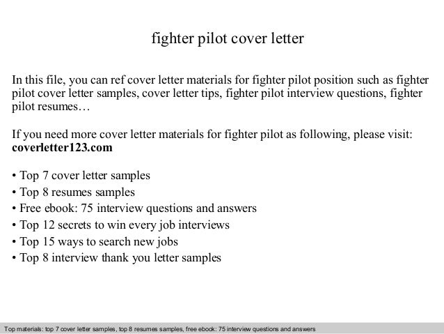 Interview Questions And Answers Free Download Pdf Ppt File Fighter Pilot Cover Letter