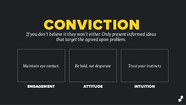 Fight for Yourself: How to Sell Your Ideas and Crush Presentations Slide 12