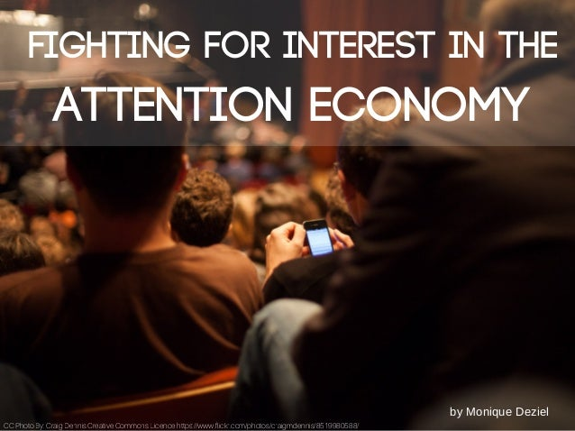 Fighting For Interest In The Attention Economy Gorgeous Fighting For Attention Images