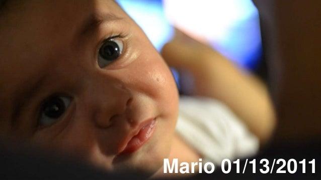 Mario 01/13/2011