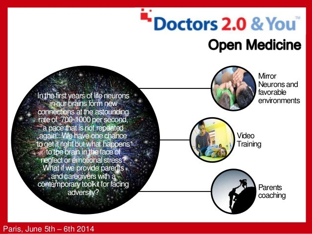 Paris, June 5th – 6th 2014 In the first years of life neurons in our brains form new connections at the astounding rate of...