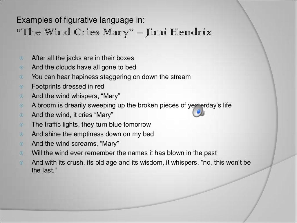 SONG LYRICS with FIGURATIVE LANGUAGE - PC\ MAC