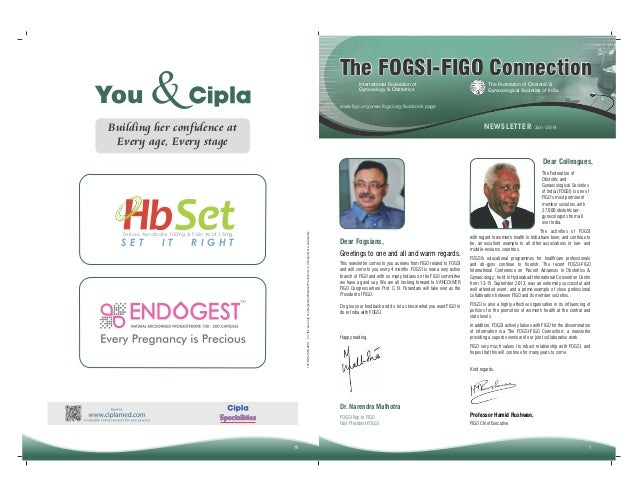 You  The FOGSI-FIGO Connection  &  International Federation of Gynecology & Obstetrics  The Federation of Obstetric & Gyne...