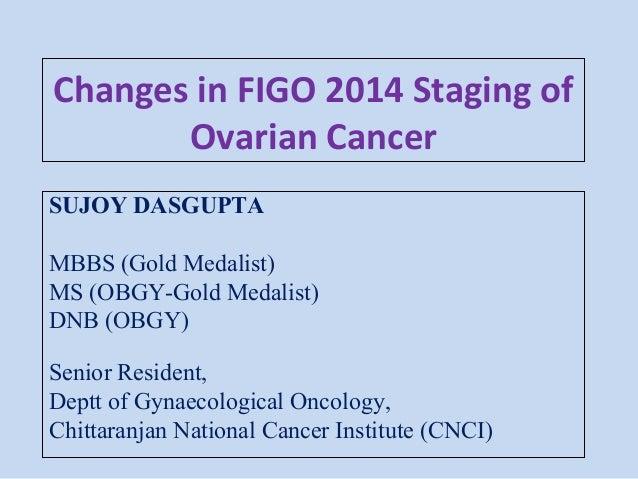 Figo 2014 Staging Of Cancer Ovary