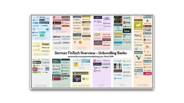 Folge der Digitalsierung Herausforderung für Banken und deren Geschäftsmodelle › Unbundling der Bankprodukte und mündige K...
