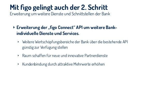 1. Einblick in die aktuelle FinTech-Entwicklung 2. Vorstellung innovativer FinTech-Einsätze bei Banken 3. figo 4. Ausblick ...