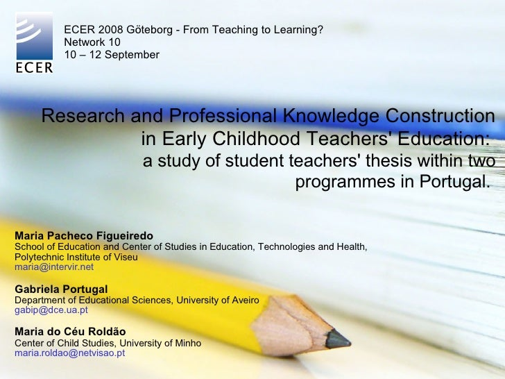 white privilege in early childhood teacher education programmes education essay Early childhood education through an instrumental case study of the international academic programmes (white privilege is an important race-related.