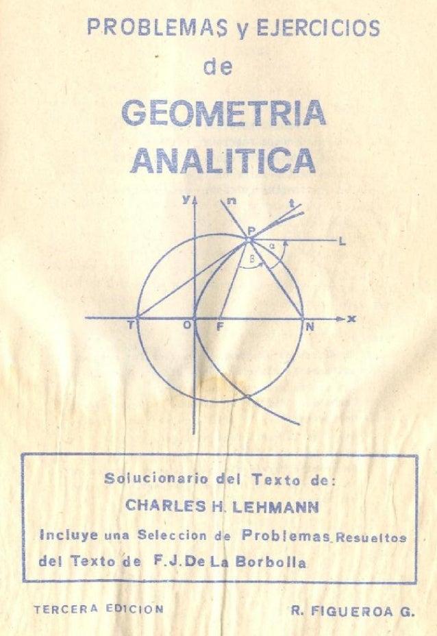 solucionario de geometria analitica de lehman