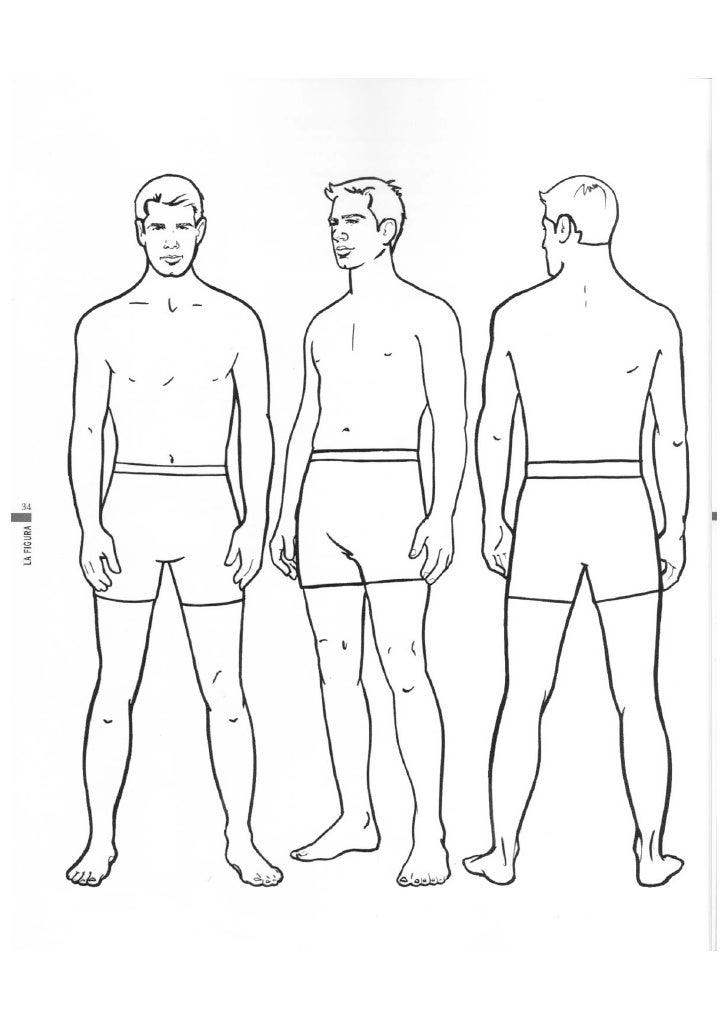 Figura humana libro ilustración de moda