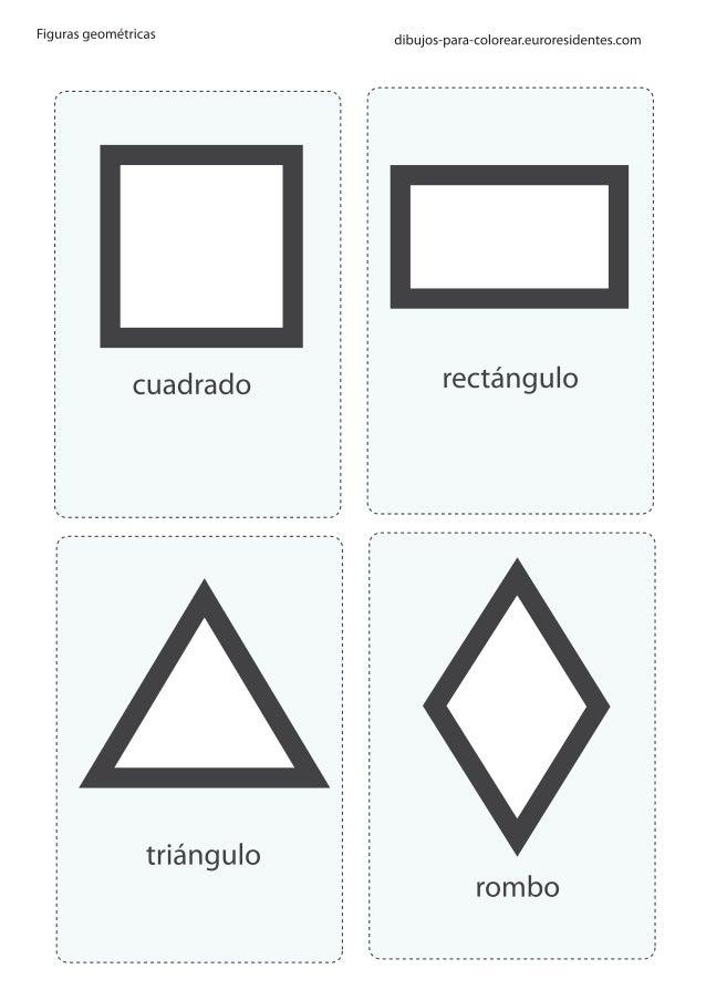 Figuras Geometricas Imprimir Colorear