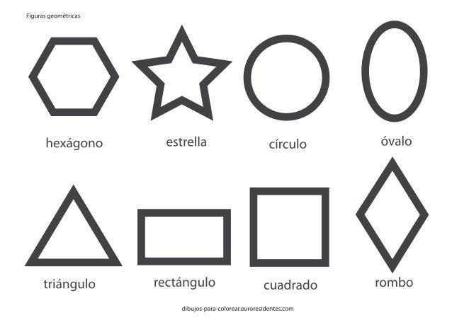 Figuras geometricasimprimircolorear