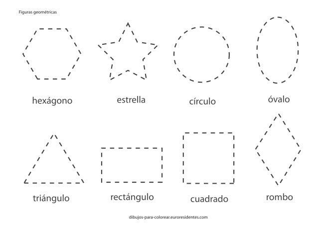 Dibujos De Figuras Geometricas Para Colorear E Imprimir: Figuras Geometricas-imprimir-colorear