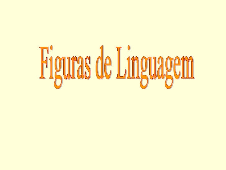 Figuras linguagem