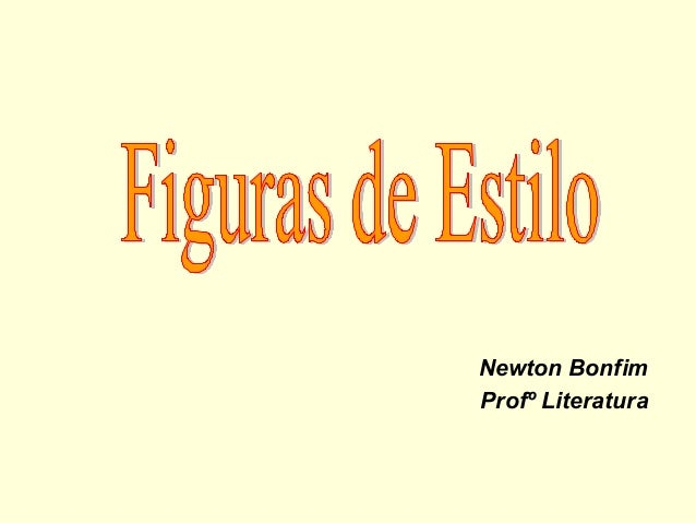 Newton Bonfim Profº Literatura