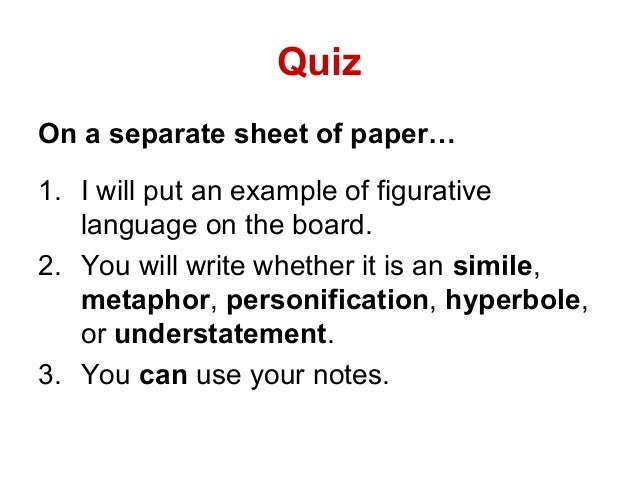 Figurative Language Www Ereadingworksheets Com An adequate knowledge of the eight parts of speech is a prerequisite to understand how these parts are combined to. figurative language www