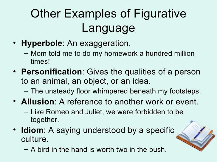 figurative language  4 other examples
