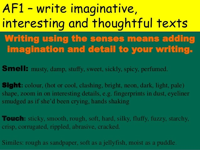 essasy written describing in detail a The main purpose of a descriptive essay is to describe your point of focus in a vivid and particular manner, so that readers can easily picture the described object, person, or state in their mind steps for writing a descriptive essay choose a subject on when going into the details of.