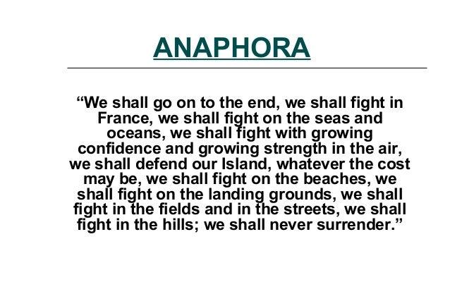 i have a dream anaphora