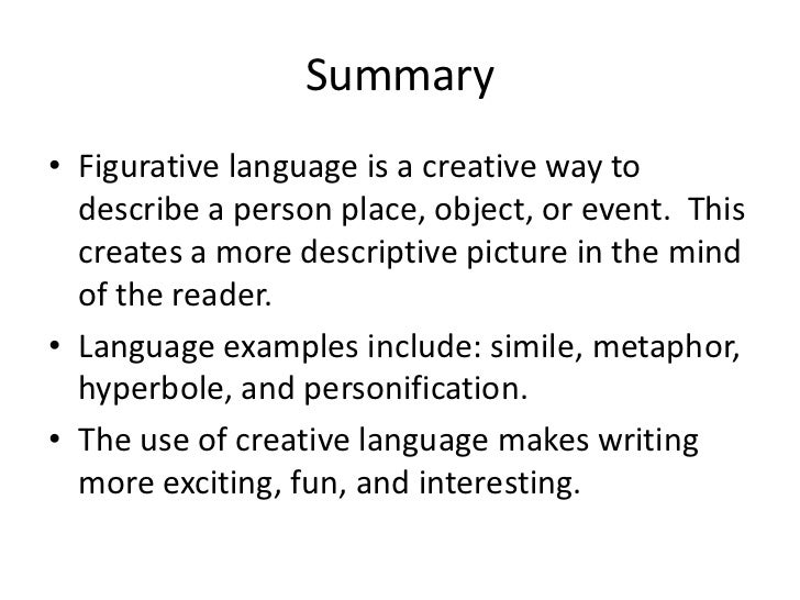 How to Add Figurative Language to an Essay