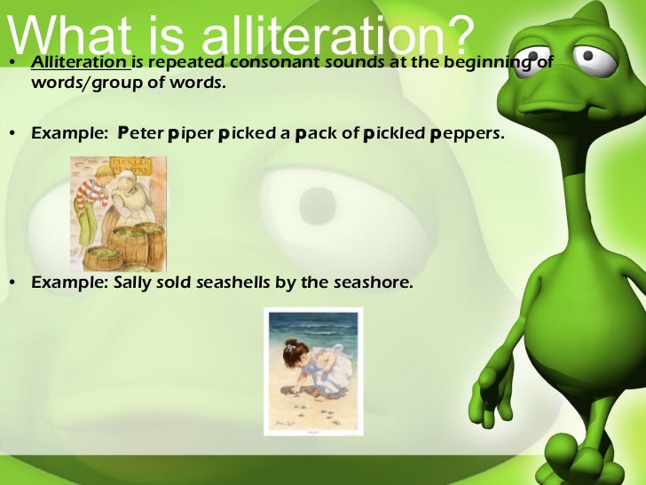 short alliteration examples
