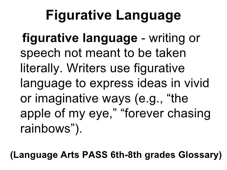 figurative language essay example Essay on examining figurative language:: 9 works cited  for example the  essay on figurative language in a work of artifice - figurative language in a work.