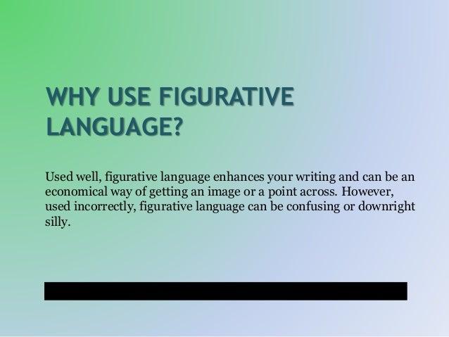 Why Do Authors Use Figurative Language?