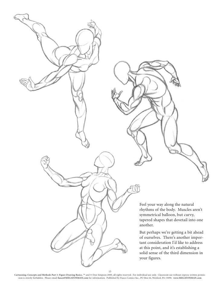 Drawing body gestures Gesture Drawing