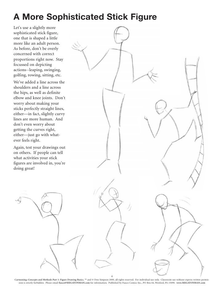 It is a photo of Inventive Figure Drawing Basics