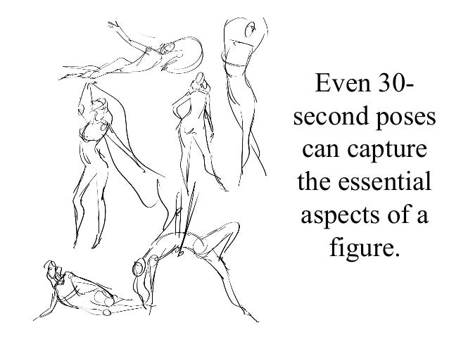 Contour Line Drawing Powerpoint : Figure drawing powerpoint