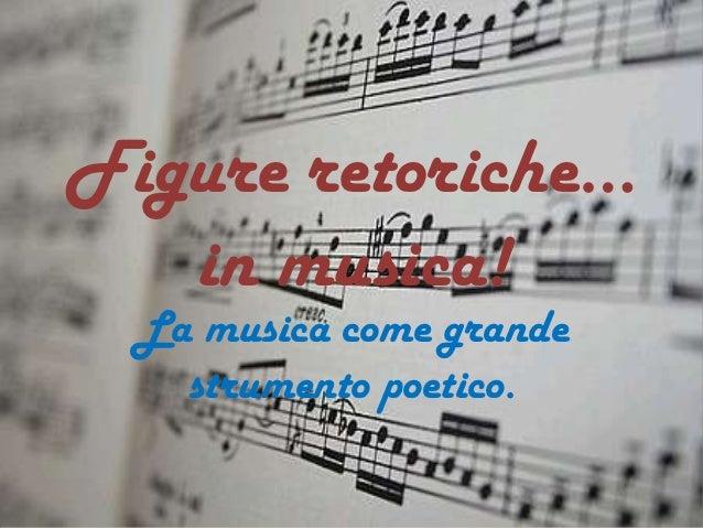 Figure Retoriche In Musica Marlene Kuntz