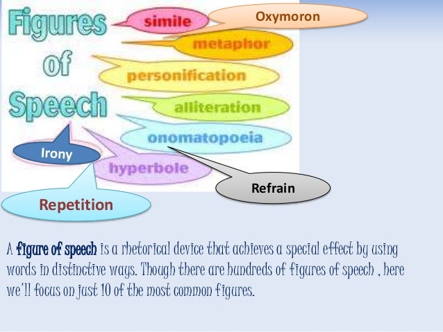 What are the figures of speech and metaphors used in