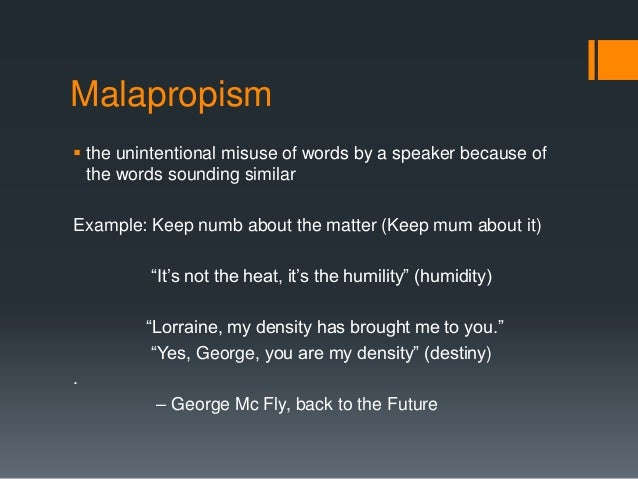 Images Of Malapropism Examples Spacehero
