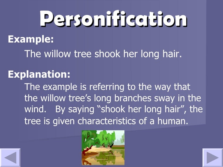 Good Example Of Personification Good Example Of Personification