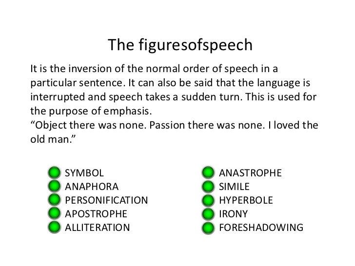 Define antithesis figure of speech