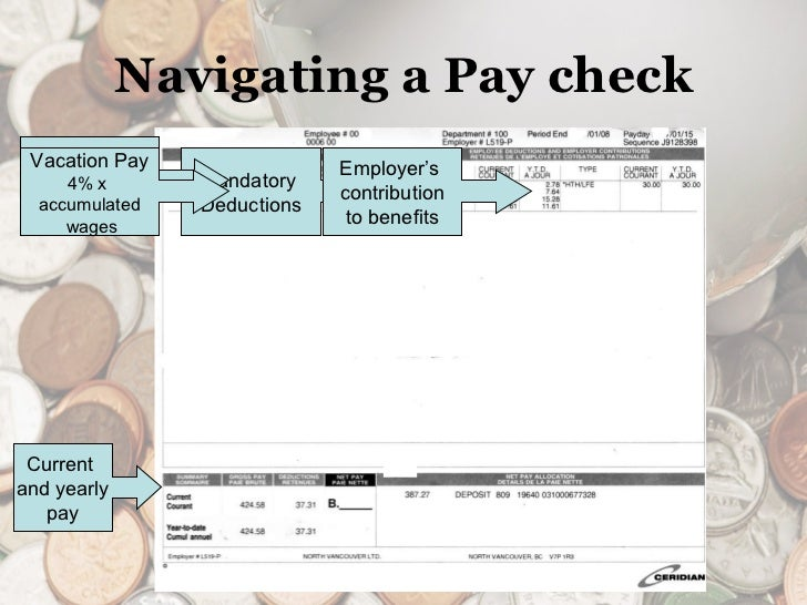 figuring out paycheck