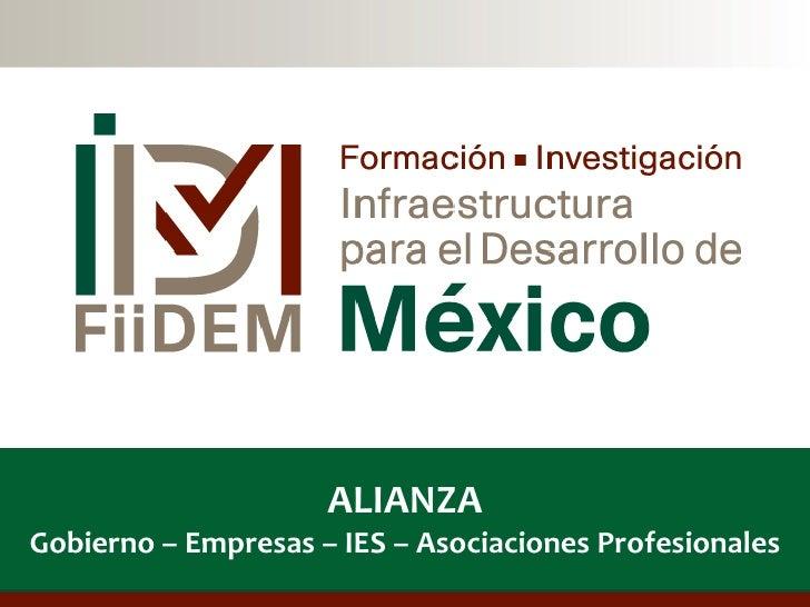 ALIANZAGobierno – Empresas – IES – Asociaciones Profesionales                                                    1