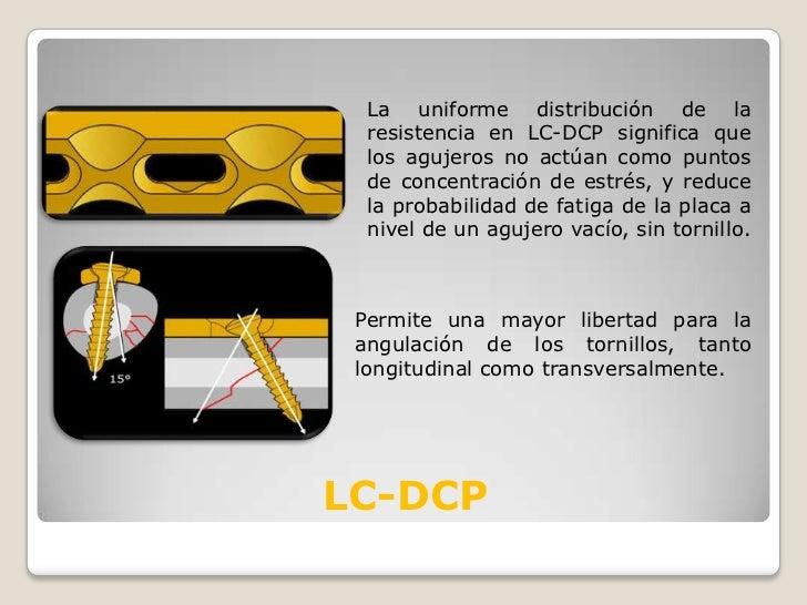 La uniforme distribución de la resistencia en LC-DCP significa que los agujeros no actúan como puntos de concentración de ...